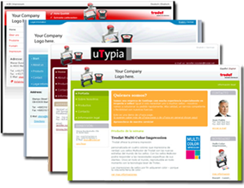 Trodat uTypia Pages Designs